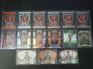 2019-20 Panini Prizm Draft Picks Romeo Langford 15 Card Lot Bostom Celtics RC