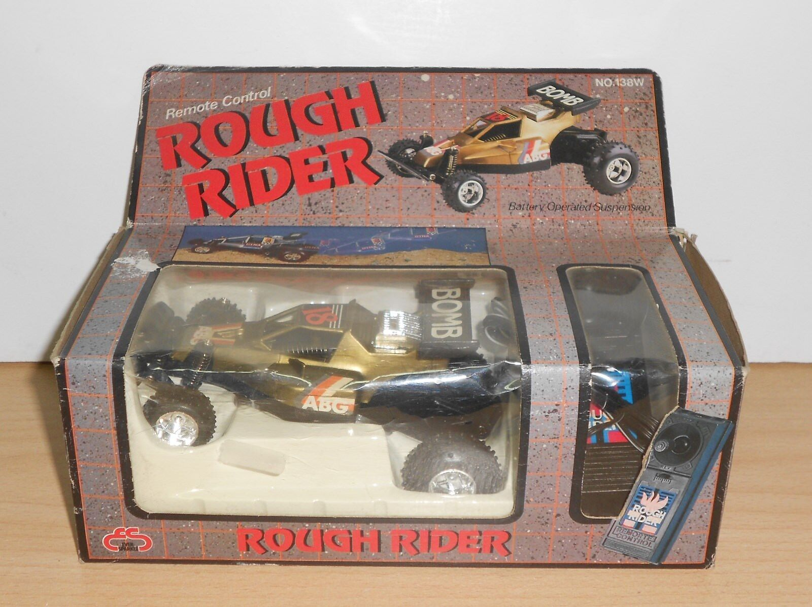 VINTAGE ROUGH RIDER Battery Operated Remote Control Plastic NO NIKO - NEW   BOX
