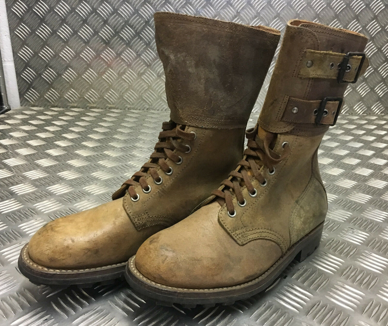 Genuine French Foreign Legion braun Leather FB303   Suede Army Stiefel Größe 40 NEW FB303 Leather 85bf12