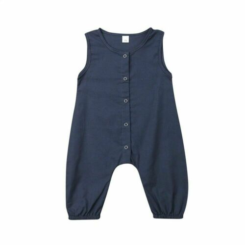 Newborn Toddler Baby Boy Girl Romper Bodysuit Sunsuit Outfit Clothes Playsuit