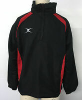 Clearance - Gilbert Rugby - Mens Xp-tour Jacket - Black/red - 2xs