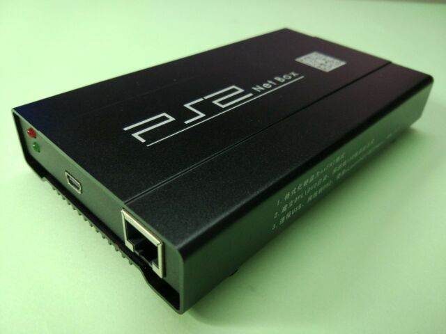 PS2NetBox ISO manager network adapter for Sony PS2 7xxxx9xxxx Video game console