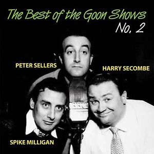 GOONS-BEST-OF-THE-GOON-SHOWS-No-2-CD-PETER-SELLERS-SPIKE-MILLIGAN-NEW