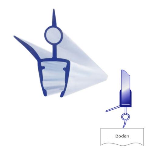 Bagnoxx Duschdichtung mit verstärkter Lippe PVC 6mm Glasstärke 100cm