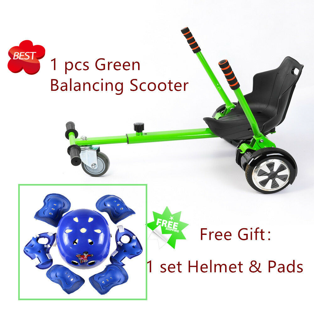 Green Adjustable Holder Seat for 6.5  8 10  Go Kart Self Balance Scooter Gifts