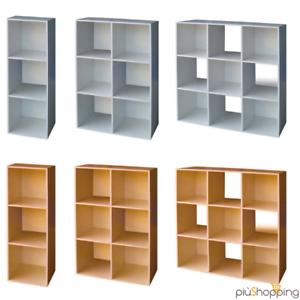 Librerie Da Muro Moderne.Details Sur Libreria Design Da Moderno Cubi Parete Muro Librerie Mensola Arredamento Mobile