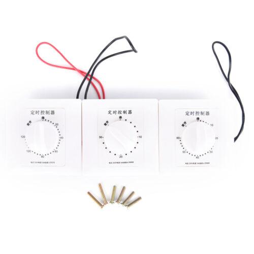 1pc 220V 30//60//120Min Time Countdown Intelligent Timer Switch Control Socket ho