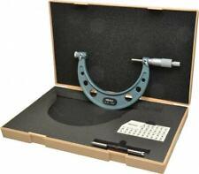 Mitutoyo 4 To 5 Range Mechanical Screw Thread Micrometer