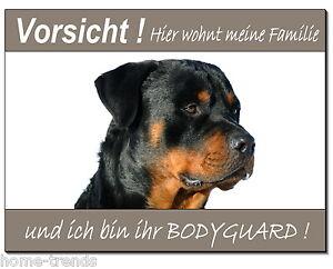 Hunde Möbel & Wohnen Rottweiler-hund-alu-schild-0,5-3mm Dick-türschild-warnschild-hinweis-hundeschild MöChten Sie Einheimische Chinesische Produkte Kaufen?