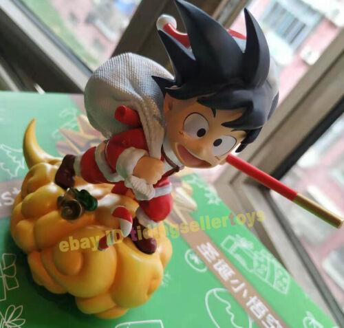 Dragon Ball Son Goku Christmas Resin Model Painted Statue Collection Gift