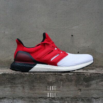 Adidas ultraboost G28999 blanc rouge écarlate Noir Boost Ultra Chaussures 4.0 neuf DS 10 | eBay