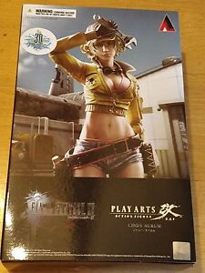 FINAL FANTASY XV 15 CINDY AURUM PLAY ARTS KAI FIGURE - NEW AND SEALED