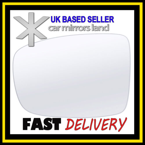 Left Passenger Wing Car Mirror Glass Replacement HYUNDAI i10 2007-2010