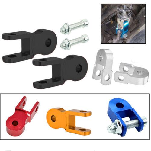2x Höhe Verlängerung Hinterer Stoßdämpfer Riser Suspension für ATV Quad #4