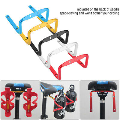 Alloy Cup Holder Bicycle Handlebar Mount  black blue red gold white chrome