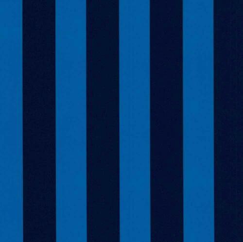 P+S Die Maus Blue Striped Wallpaper Children Kids Girls Boys Room Washable