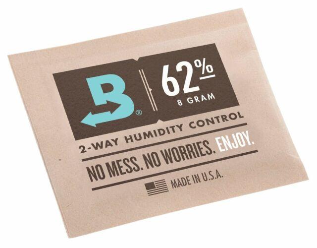 Lot de 3//à 2/voies contr/ôle dhumidit/é 69/% RH Boveda Humidipak 8/gram Medium