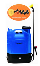 The Aquaking Pressure Sprayer Pump with Battery 12V 16lt Back//Backpack Ausonia