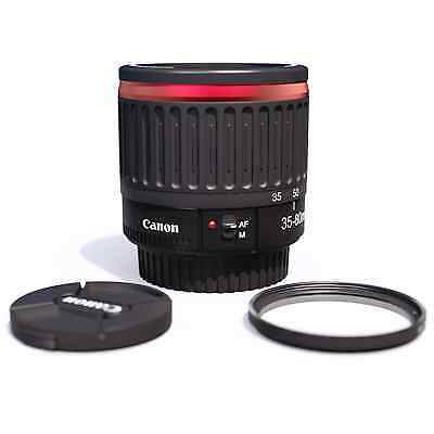 ⭕️1:1 Canon Macro lens EF 35-80mm Red Close up 1.6x∼60mm-130mm 1.3x∼50mm-100mm⭕️