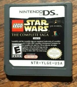 LEGO Star Wars The Complete Saga (Nintendo DS 2007) VG Shape & Tested Authentic