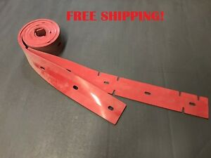 """1023327, 1023329, SQUEEGEE BLADE KIT, LINATEX, TENNANT T5 SCRUBBERS, 26"""", 650mm"""