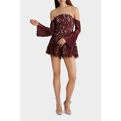 NEW Tiger Mist Fall Together Playsuit Plum