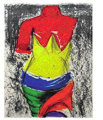 "Jim Dine       ""Bather""     Lithograph             BA   MAKE OFFER"