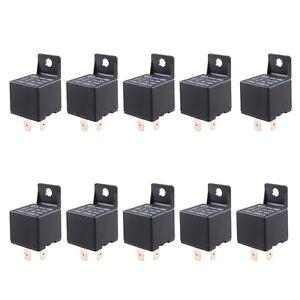 10-X-KFZ-Relais-Offner-Schliesser-Umschaltrelais-Wechselrelais-12V-40A-4-Polig