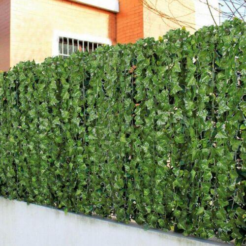 Artificial Hanging Plant 84 Feet Silk English Ivy Vine Garland Leaves Wreath 12p