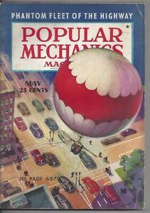 Magazine Popular Mechanics May 1938 Treasure Island Tornadoes