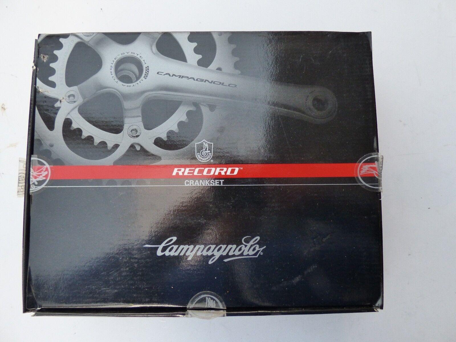 CAMPAGNOLO RECORD CocheBON CRANKSET 11-SP ULTRA TORQUE 53 39T - 180 mm -NOS  NIB