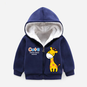Kids-12M-18M-24M-3T-4T-Toddler-Warm-Hooded-Jacket-Hoodies-Sweatshirt-Coat-Tops