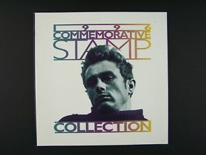 1996-Commemorative-Stamp-Collection-James-Dean-Cover-Paperback