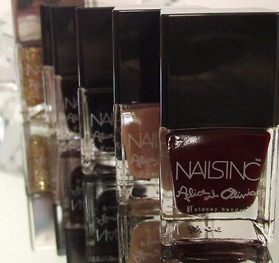 Nails Inc Nail Varnish Polish Black Ruby Burgundy Ebay