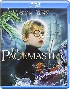 THE-PAGEMASTER-Macaulay-Culkin-Blu-Ray-Sealed-Region-free-for-UK