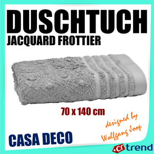 JOOP Casa DECO Duschtuch Jacquard Frottier 70x140 Cm Grisdesigned by W