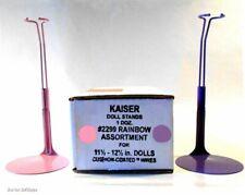 "CARA NEW MIDGE Fits 11.5/""-12.5/"" tall  BARBIE 3 DOLL STANDS Kaiser #2295 PINK"