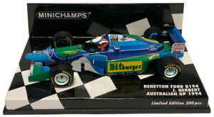 Minichamps 417941606 benetton-ford b194 johnny herbert australian gp 1994 1//43