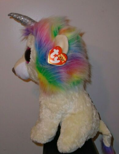 """JUMBO Beanie Boos ~ LAYLA the Lion Claire/'s Exclusive NEW MWMT Ty 17/"""" LARGE"""