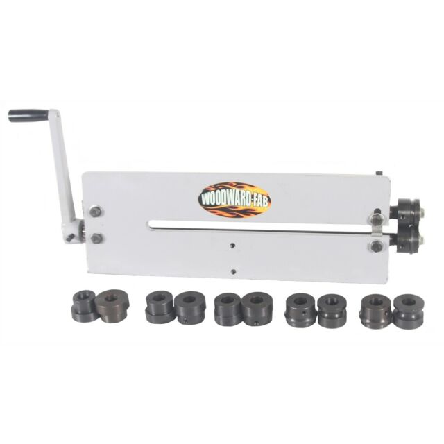 "Woodward Fab WFBR6 18"" Manual Steel Aluminum Bead Roller Kit"