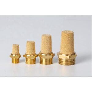 Fevas 0.37 Thread Sintered Bronze Air Exhaust Silencer Muffler
