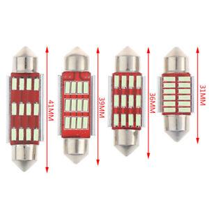 2Pcs-Blue-31-36-39-41mm-LED-Light-Canbus-Festoon-Dome-Car-Interior-Reading-La-ti