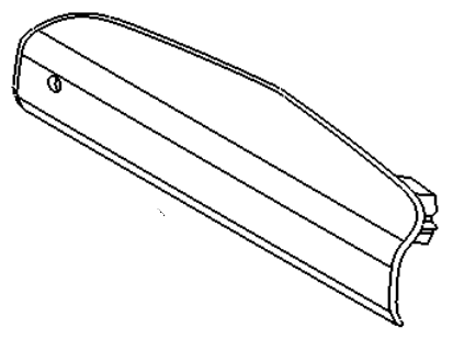 VAUXHALL ADDITIONAL BRAKE LAMP - GENUINE NEW - 13188045