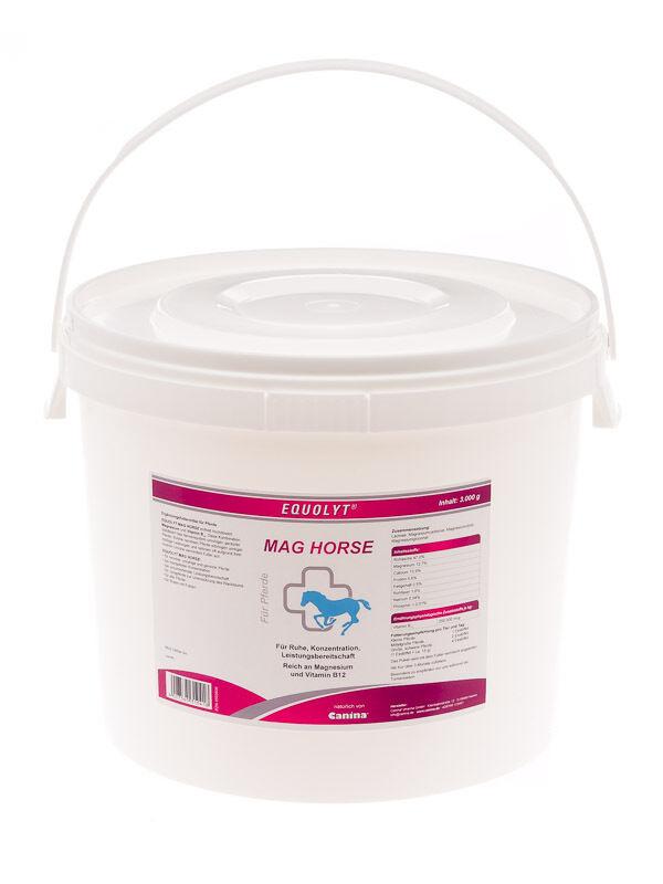 Canina EQUOLYT Mag Horse Magn.Vita B12 für Pferde 3Kg  /kg) zum TopPreis ( /kg)  00c528