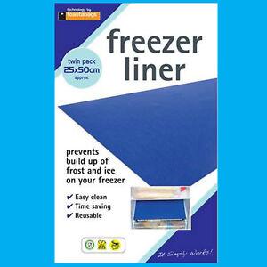 2x Réfrigérateur Congélateur Revêtement Tiroir Tapis Anti Gel,glace