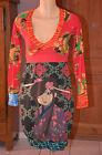 DESIGUAL -Très jolie robe rouge - Taille XS - EXCELLENT ÉTAT
