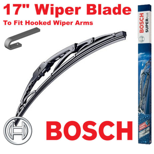 Bosch 17 Inch Super Plus Universal Wiper Blade SP17 For Hooked Wiper Arms