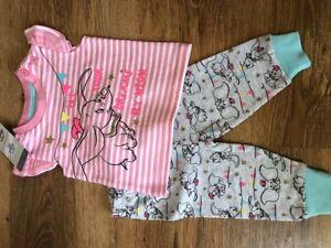 BNWT PRIMARK BABY GIRL DISNEY MINNIE MOUSE PINK 4 PIECE SLEEP SUIT VEST SET