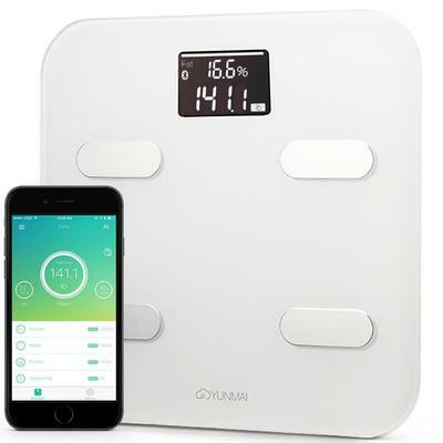 Yunmai Color Smart Scale - BRAND NEW AND WARRANTY (COLOUR White)