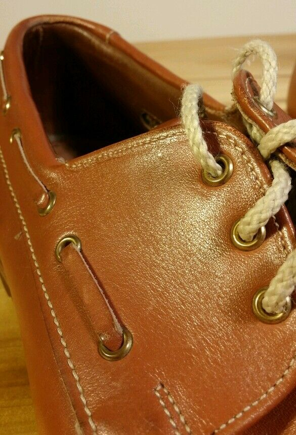 Allen Allen Allen Edmonds Pelle Boat Shoes Sz 9 C 5c59f9